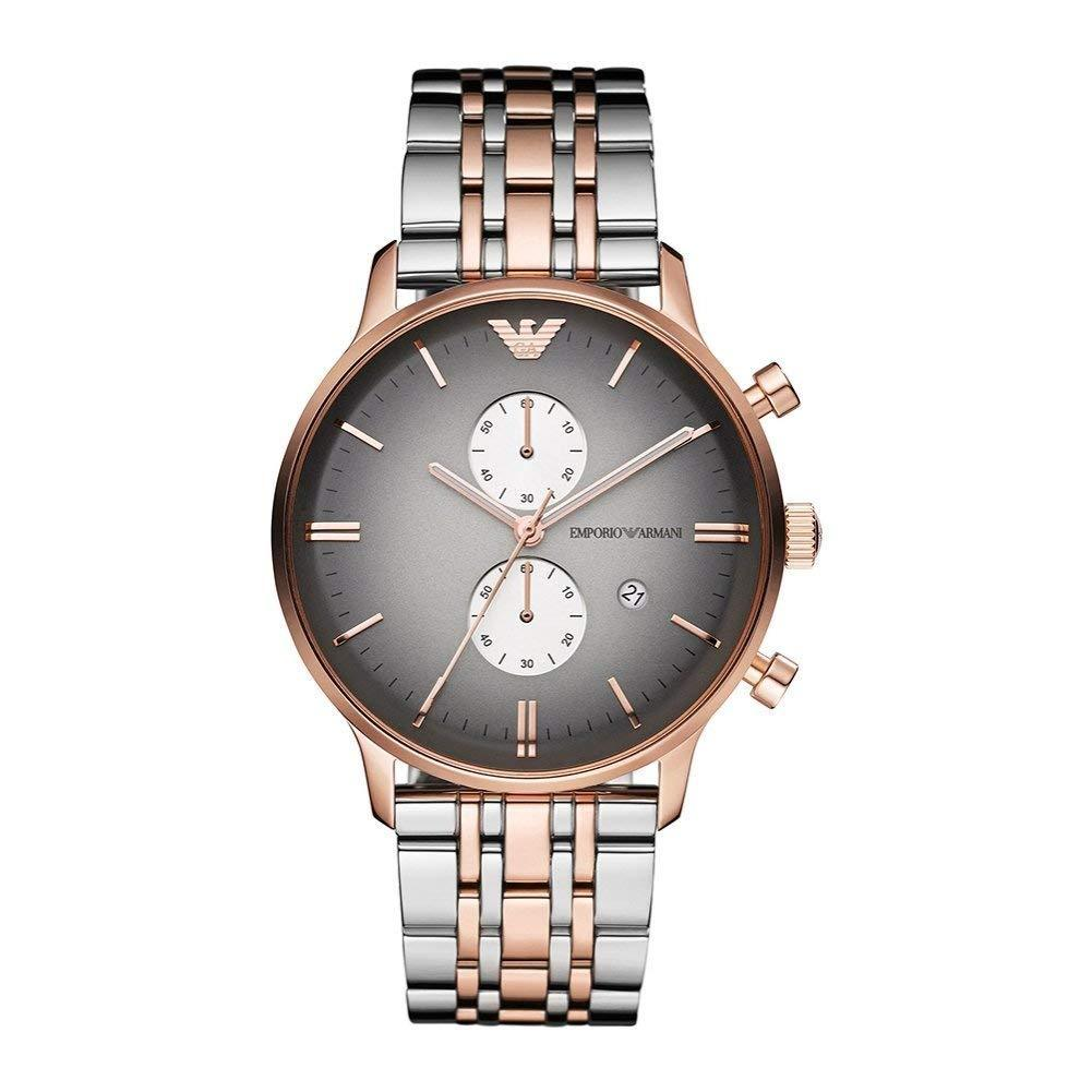 Emporio Armani AR1721 Gianni Classic Rose Gold Mens Watch