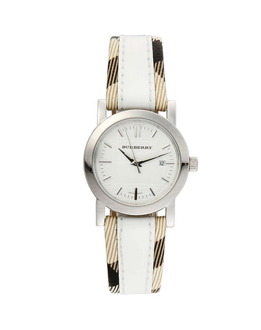 Burberry BU1395 Heritage Swiss Made Leather Womens Watch