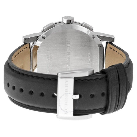 Burberry BU9382 Sport Black Leather Swiss Made Mens Watch