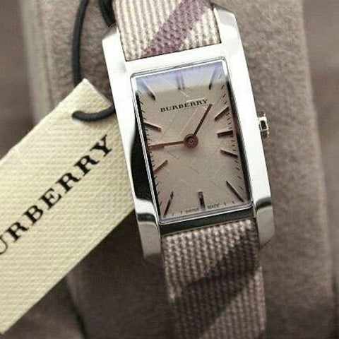 Burberry BU9504 The Pioneer Smoke Swiss Made Womens Watch