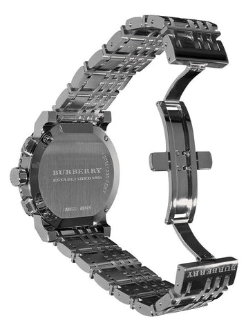 Burberry BU2305 Heritage Gunmetal Swiss Made Mens Watch