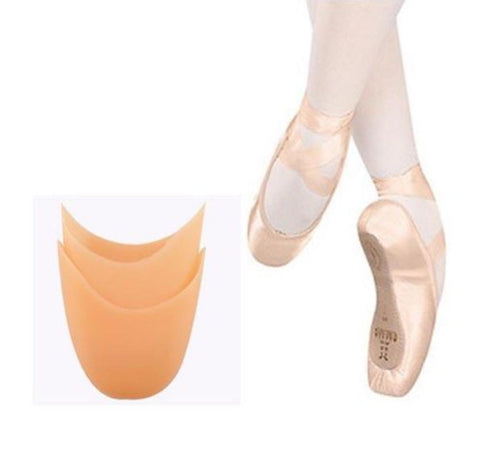 Roht Soft Silicone Gel Pointe Ballet Dance Shoe Toe Pads unisex 2 pcs