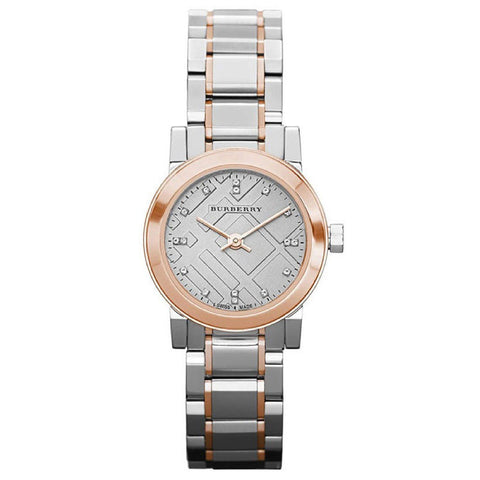 Burberry BU9214 Heritage Dual Tone Swiss Made Womens Watch