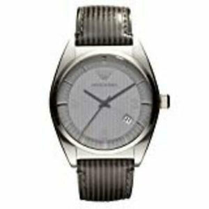 Armani Men's AR0366 Classic Stainless Steel Grey Dial Watch