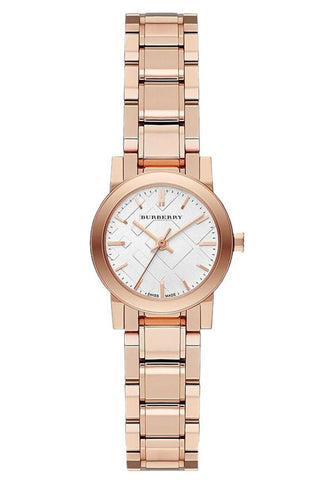 Burberry BU9204 The City Rose Gold Swiss Made Womens Watch