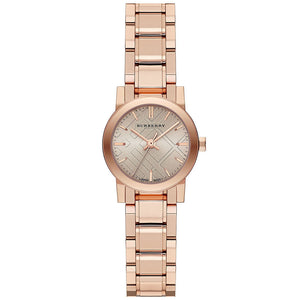 Burberry BU9228 Heritage Rose Gold Swiss Made Womens Watch