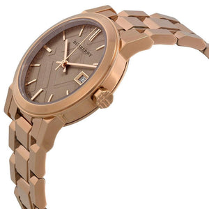 Burberry BU9135 The City Rose Gold Swiss Made Womens Watch