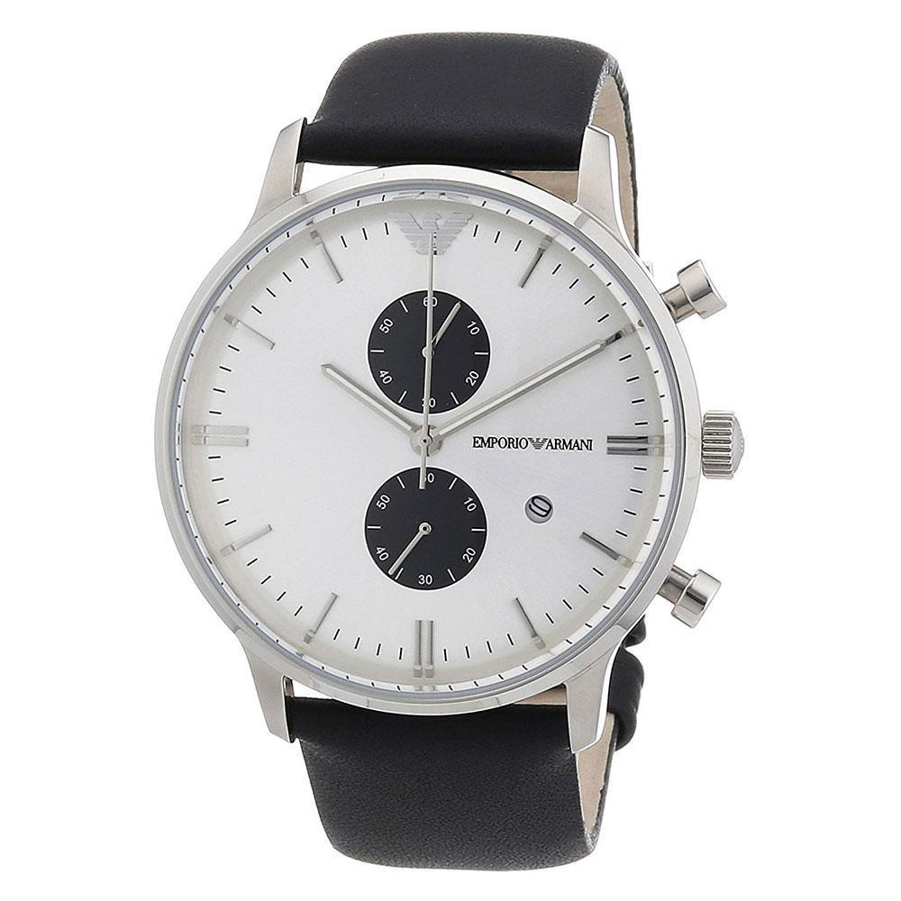 Emporio Armani AR0385 Classic Leather Mens Watch