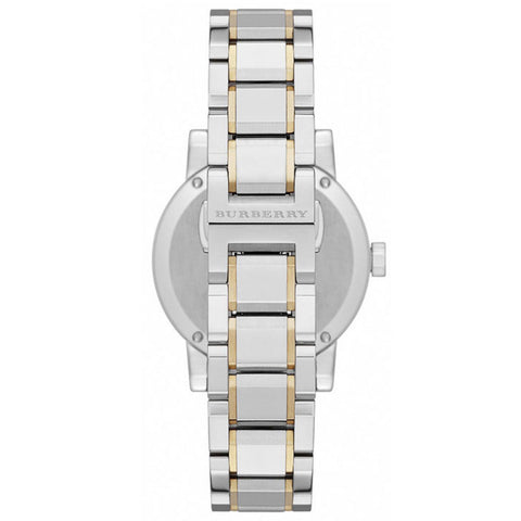 Burberry BU9115 Heritage Dual Tone Swiss Made Womens Watch