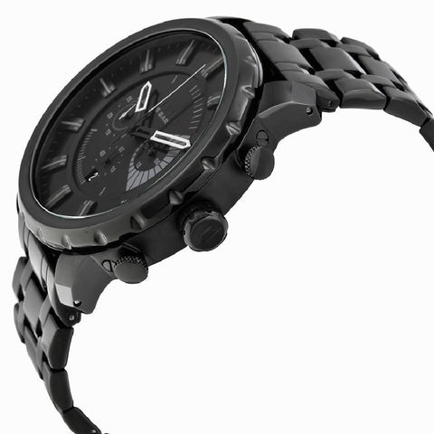 Diesel DZ4349 Stronghold All Black Chronograph Mens Watch