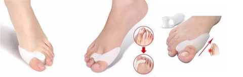 Bunion Guard with toe spacer made with premium silicone gel