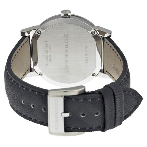 Burberry BU9030 Check Engraved Swiss Made Mens Watch