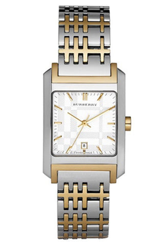 Burberry BU1573 Nova Heritage Dual Tone Swiss Made Womens Watch