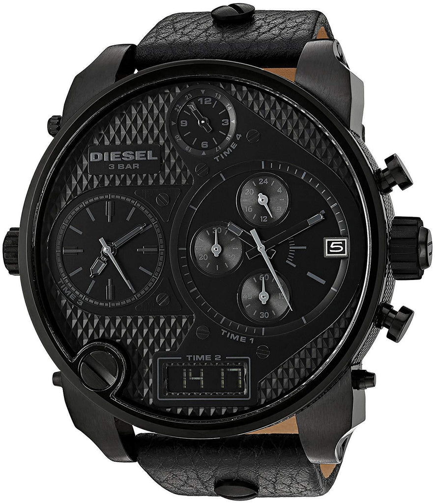 Diesel DZ7193 Big Daddy SBA All Black Mens Watch