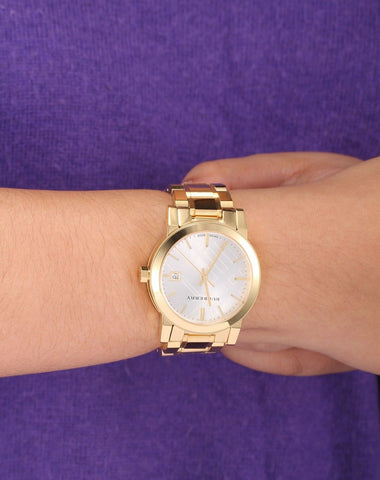 Burberry BU9103 The City Gold Swiss Made Womens Watch