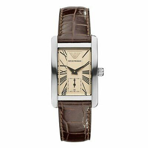 Emporio Armani Watch Women's Leather Strap AR0155