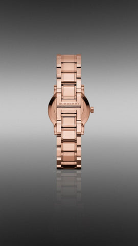 Burberry BU9215 Heritage Rose Gold Swiss Made Womens Watch