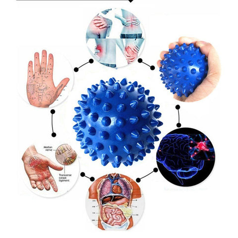 Foot Massage ball Best for Plantar Fasciitis - Spiky massage ball