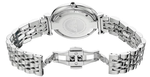 Emporio Armani AR1819 Retro Dress Silver Womens Watch