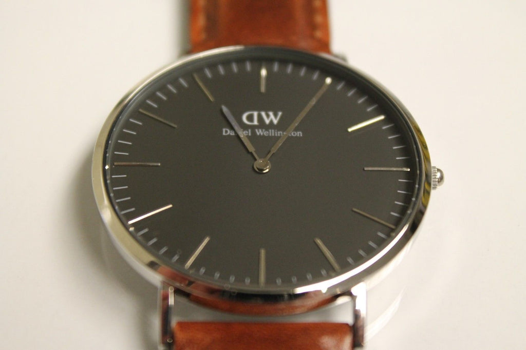 Daniel Wellington Men's DW00100130 Classic St Mawes Brown Leather Watch