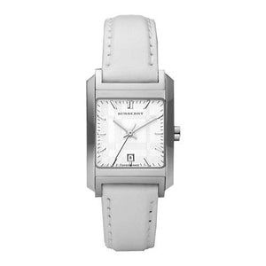 Burberry BU1576 Heritage Swiss Made White Leather Womens Watch