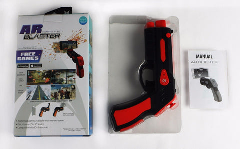 AR Kids Toy Gun for Smartphone - Connect and enjoy 20+ included Virtual Games