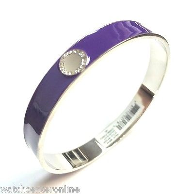 Marc by Marc Jacobs M5134091 Skinny Enamel Disc Bangle - Cosmic Purple