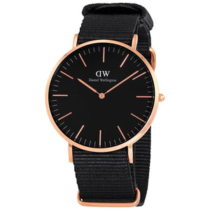 Daniel Wellington DW00100148 Classic Cornwall Black 40mm Watch