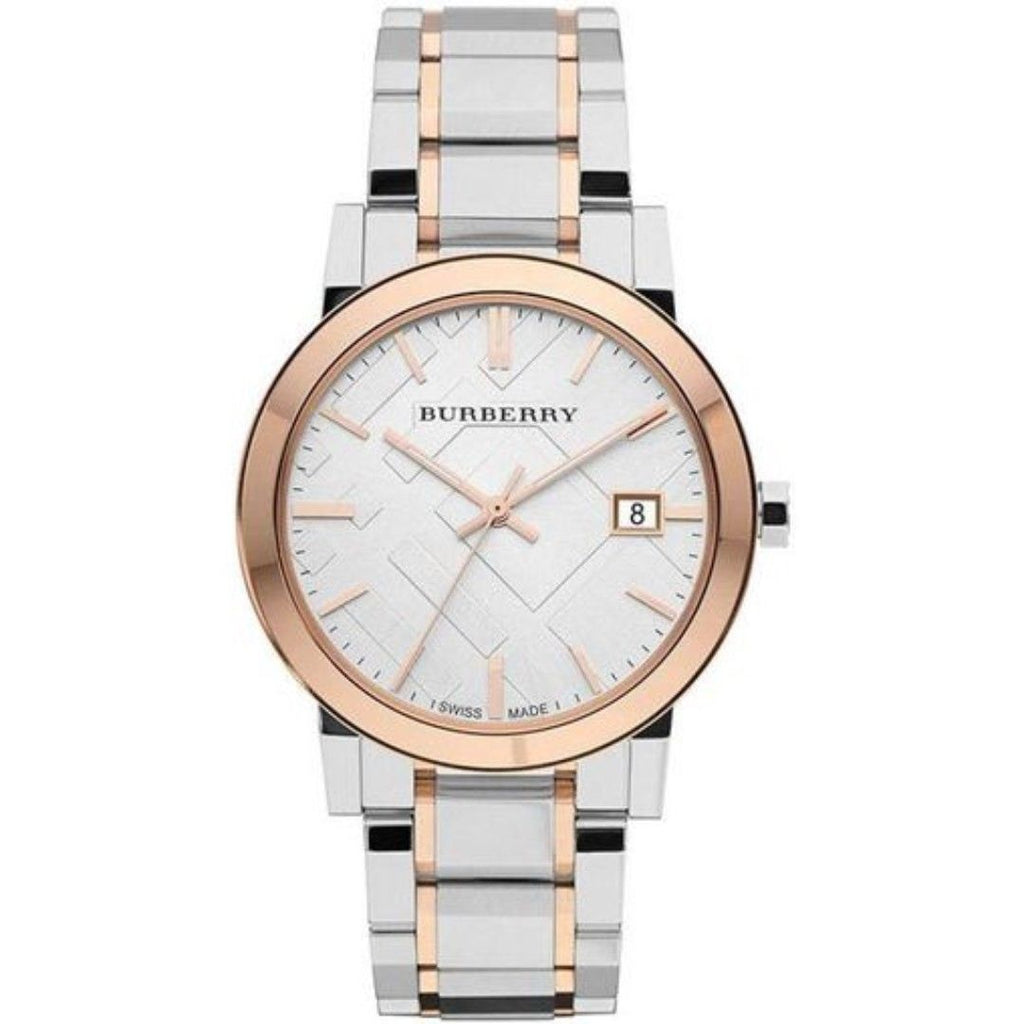 Burberry BU9127 Heritage Dual Tone Swiss Made Womens Watch