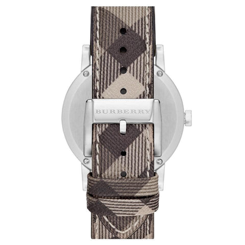 Burberry BU9029 Heritage Beige Swiss Made Leather Womens Watch