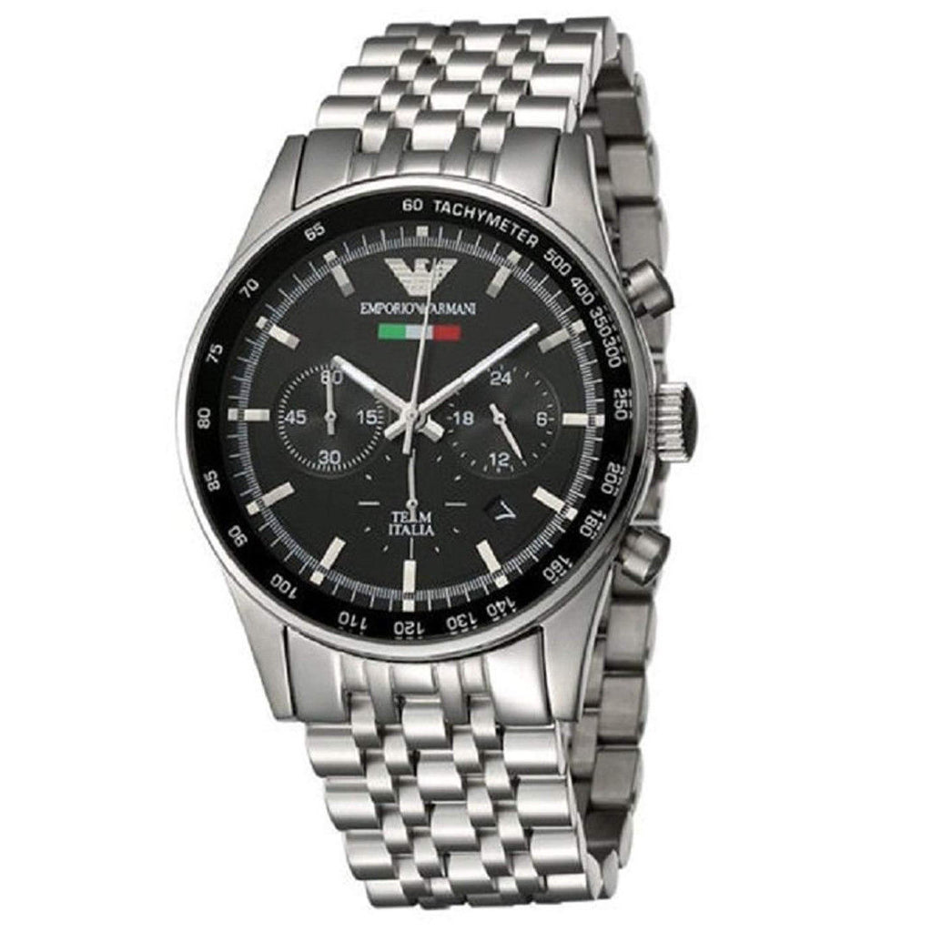 Emporio Armani AR5983 Team Italia Chronograph Mens Watch