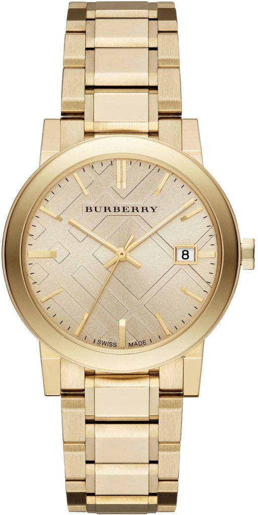 Burberry BU9033 The City Champagne Swiss Made Womens Watch