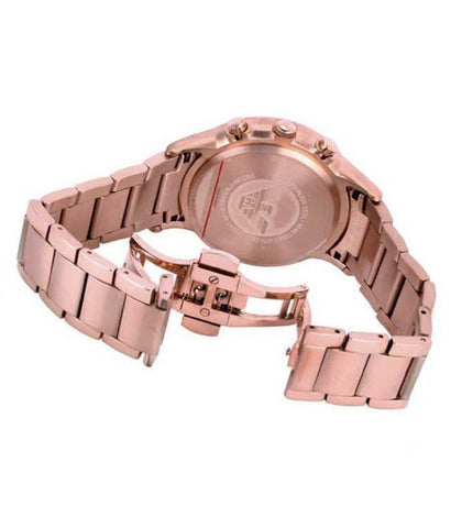 Emporio Armani AR2452 Sport Rose Gold Chronograph Womens Watch