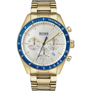 BOSS Hugo Boss 1513631 Trophy Gold Chonograph Mens Watch