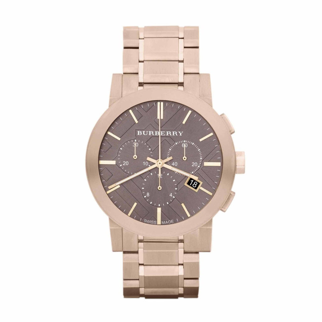 Burberry BU9353 Heritage Rose Gold Swiss Made Mens Watch