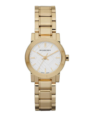Burberry BU9203 The City Gold Swiss Made Womens Watch