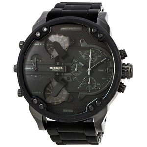Diesel DZ7396 Mr. Daddy 2.0 Black Dial Chronograph Men's Watch