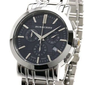 Burberry BU1360 Heritage Black Dial Swiss Made Mens Watch