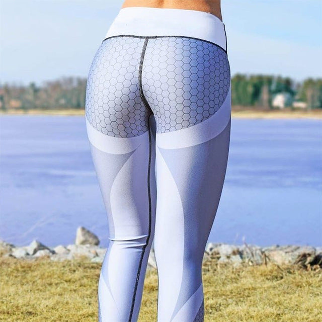80ec7f4f0f81d Sexy Shaping Hip Yoga Pants Women Fitness Tights Workout Gym Running ...