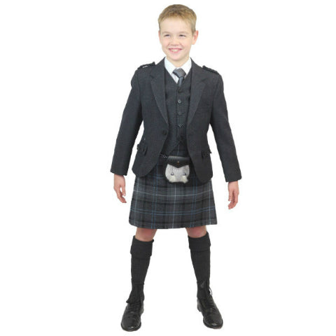 Boys Grey Tweed Outfit