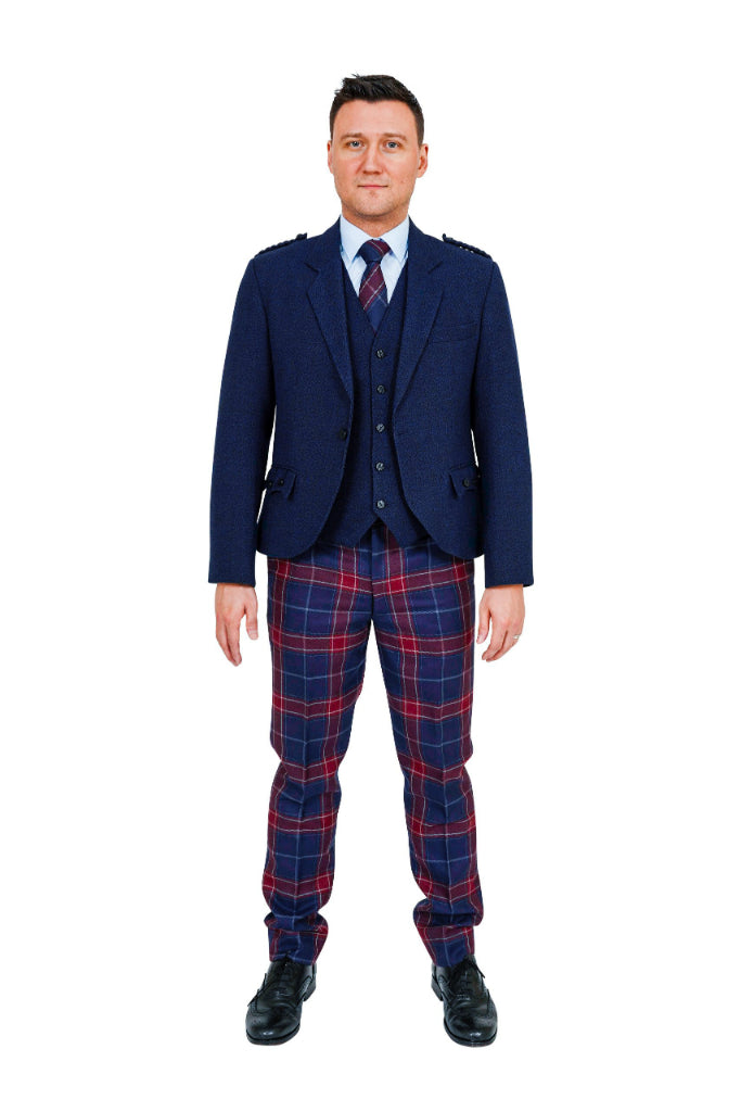 Queen of the South Tartan Trews Hire Outfit