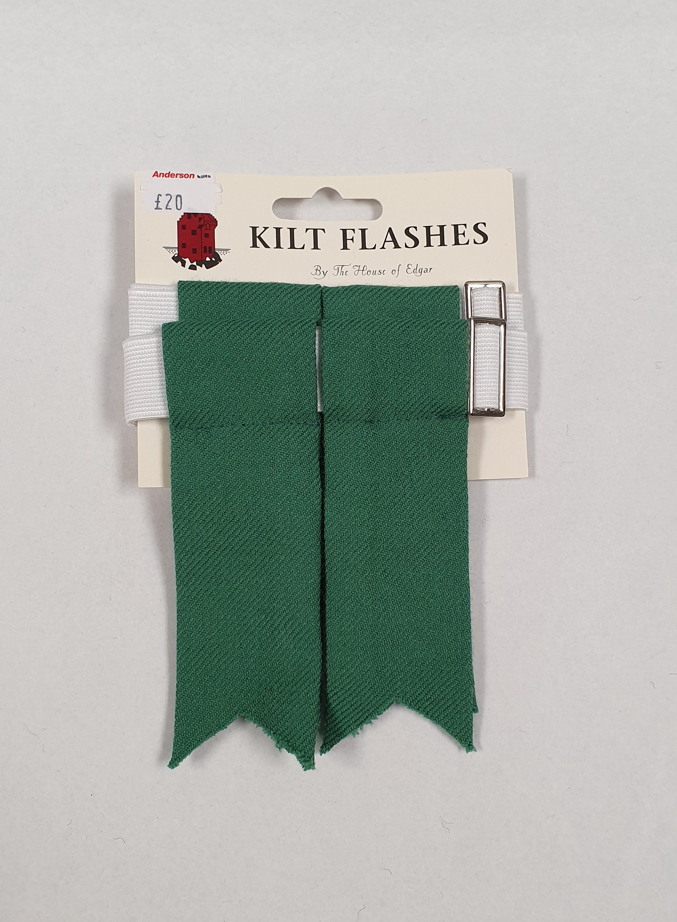Flower of Scotland Green Flashes - Anderson Kilts