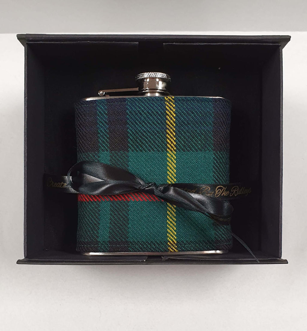 6oz Tartan Hip Flask - Anderson Kilts