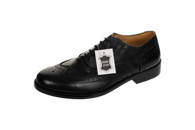 Leather Day Brogue