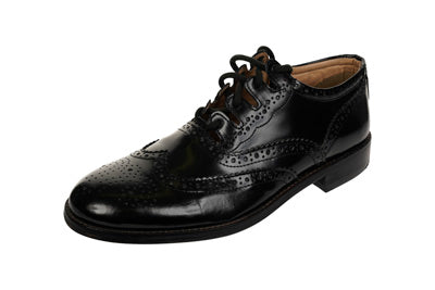Deluxe Leather Ghillie Brogue