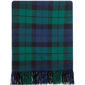 Black Watch  tartan lambswool Blanket