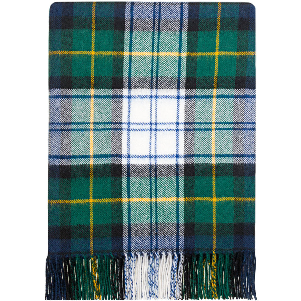 Gordon Dress Modern tartan lambwool Blanket