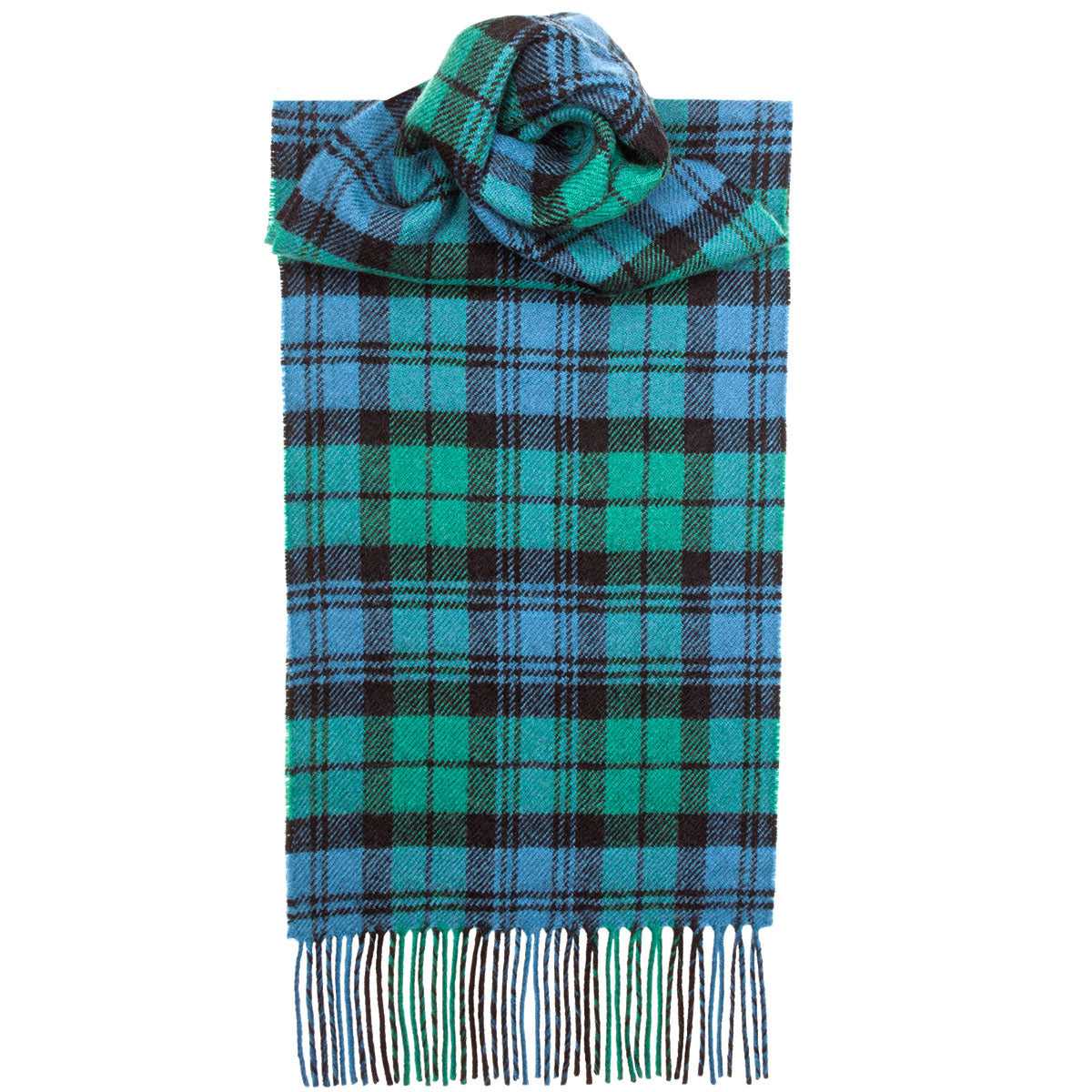 Campbell Ancient Tartan Scarf - Anderson Kilts