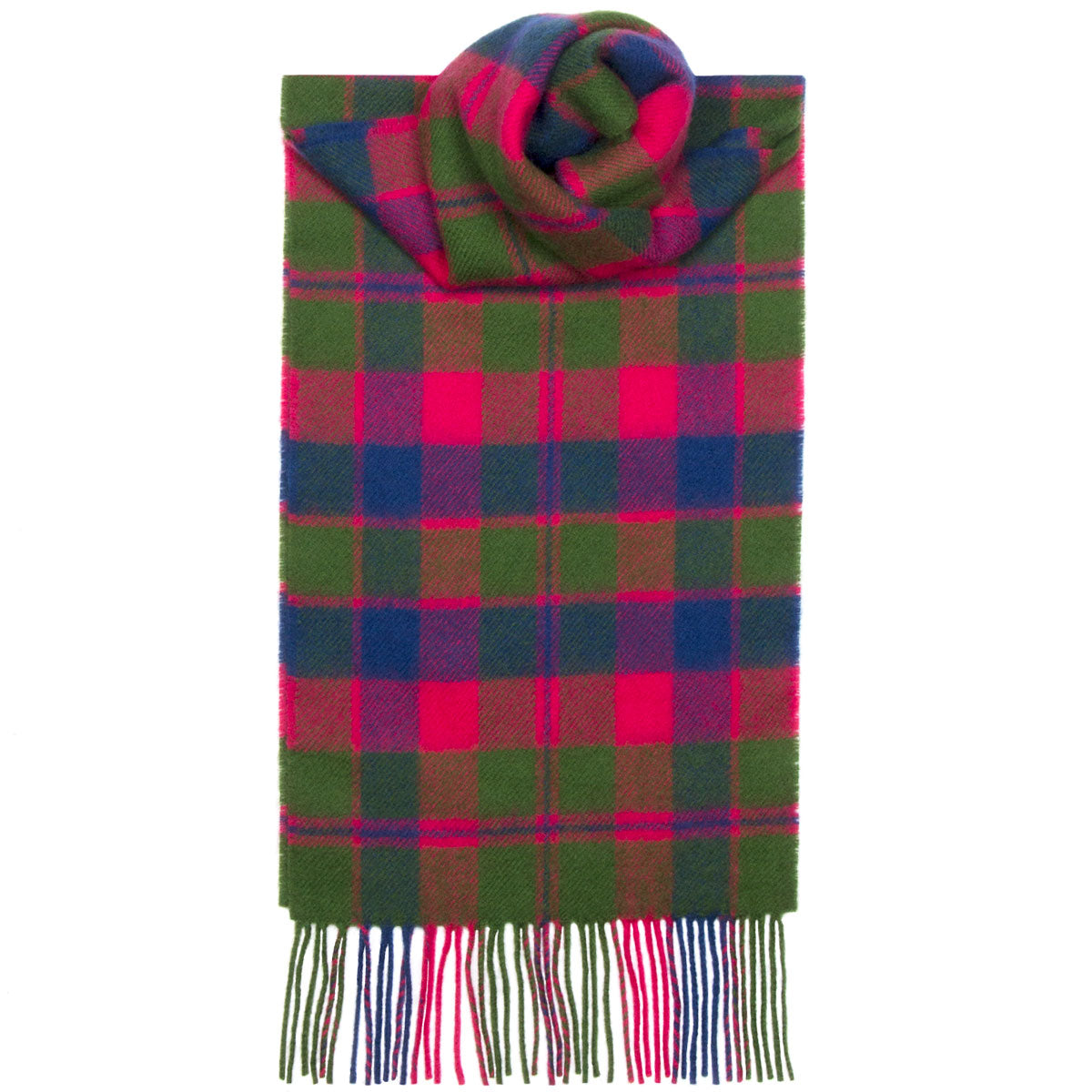 Glasgow District Tartan Scarf - Anderson Kilts