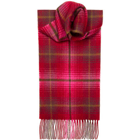Lauriston Check Tartan Scarf
